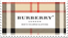 Burberry Stamp by PuffCats