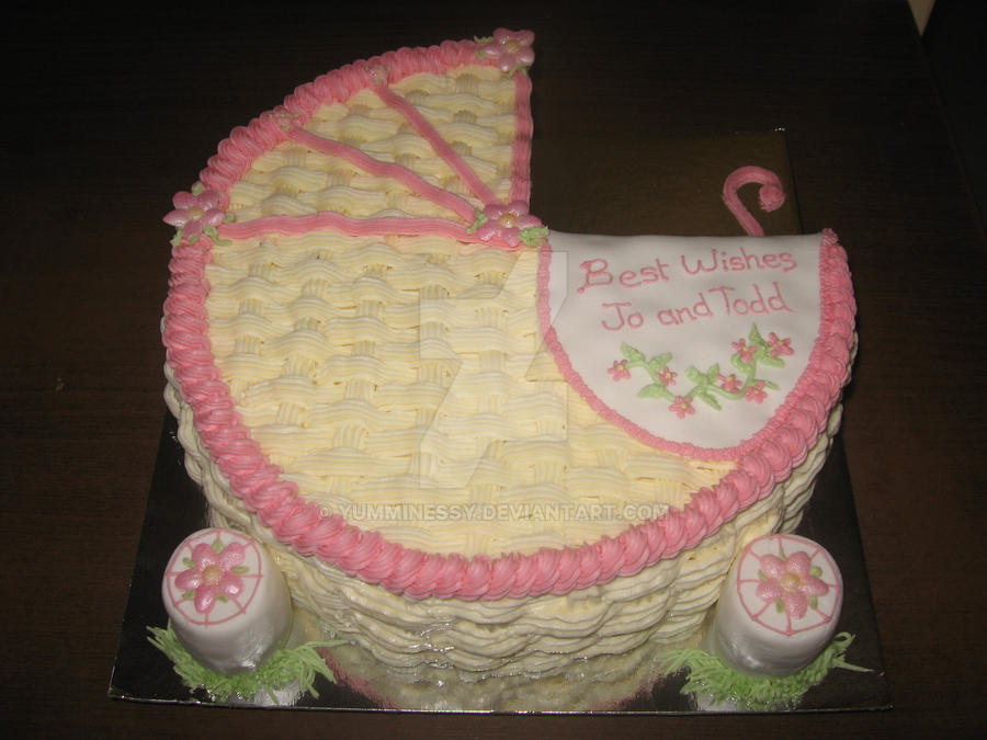 Baby Shower Carriage Cake Ideas