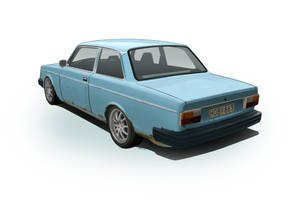 Volvo 242 1975 by LindStyling