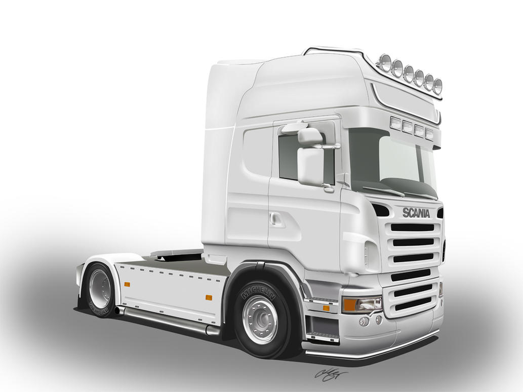 Scania R Art by LindStyling