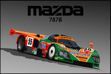 Mazda 787B by LindStyling