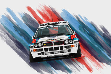 Lancia Delta Integrale Evoluzione by LindStyling