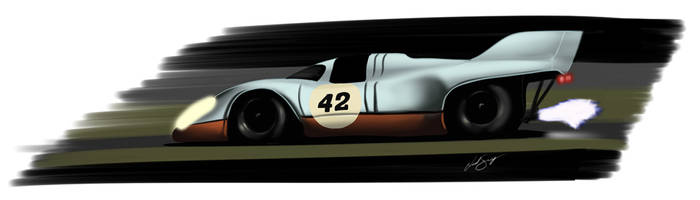 Porsche 917 by LindStyling