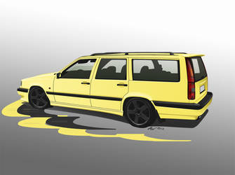 Volvo 850 T5-R by LindStyling