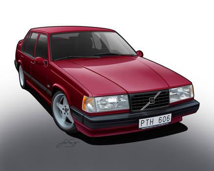Volvo 940 Turbo Toon.