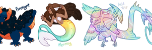 Collab Adopts (ft. Ponkochi) (Closed) by Auriole