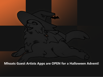 Mhoat GA Apps Closed! Halloween Advent by Auriole