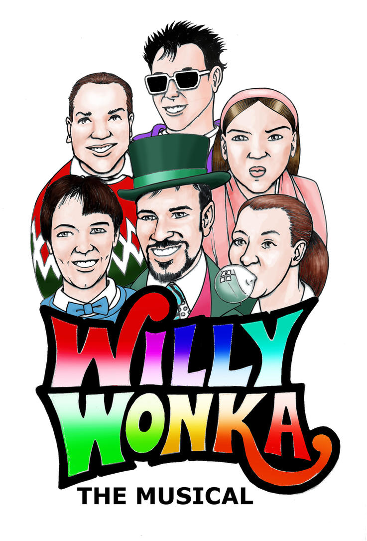 colorized Willy Wonka Logo by mtiun