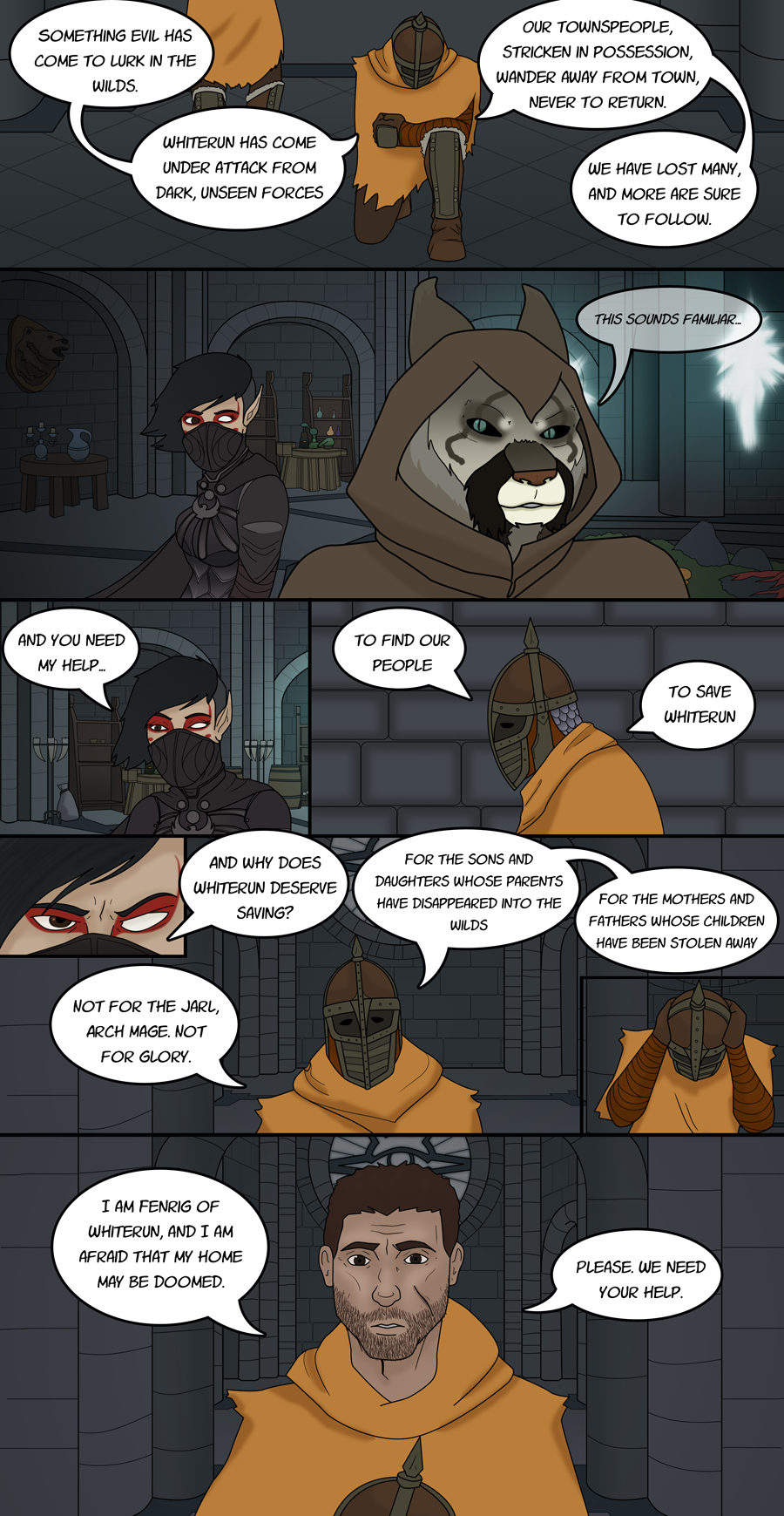 Enter Skyrim - Pg 8 - This Sounds Familiar