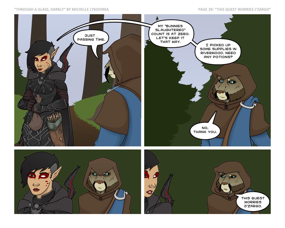 TAGD Skyrim - Pg 39 - This Quest Worries J'Zargo by deathreborn