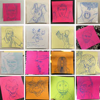 Halloween Post Its - P1