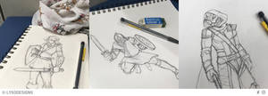 Insta Sketch Dump 1