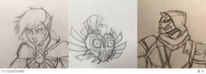 Insta Sketch Dump 2