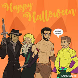 Unstoppables Halloween