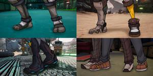 Totally Innocent Feet / Pose Practice