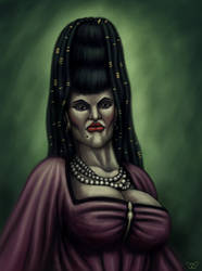 The Lady ? - Portrait by Winterflood