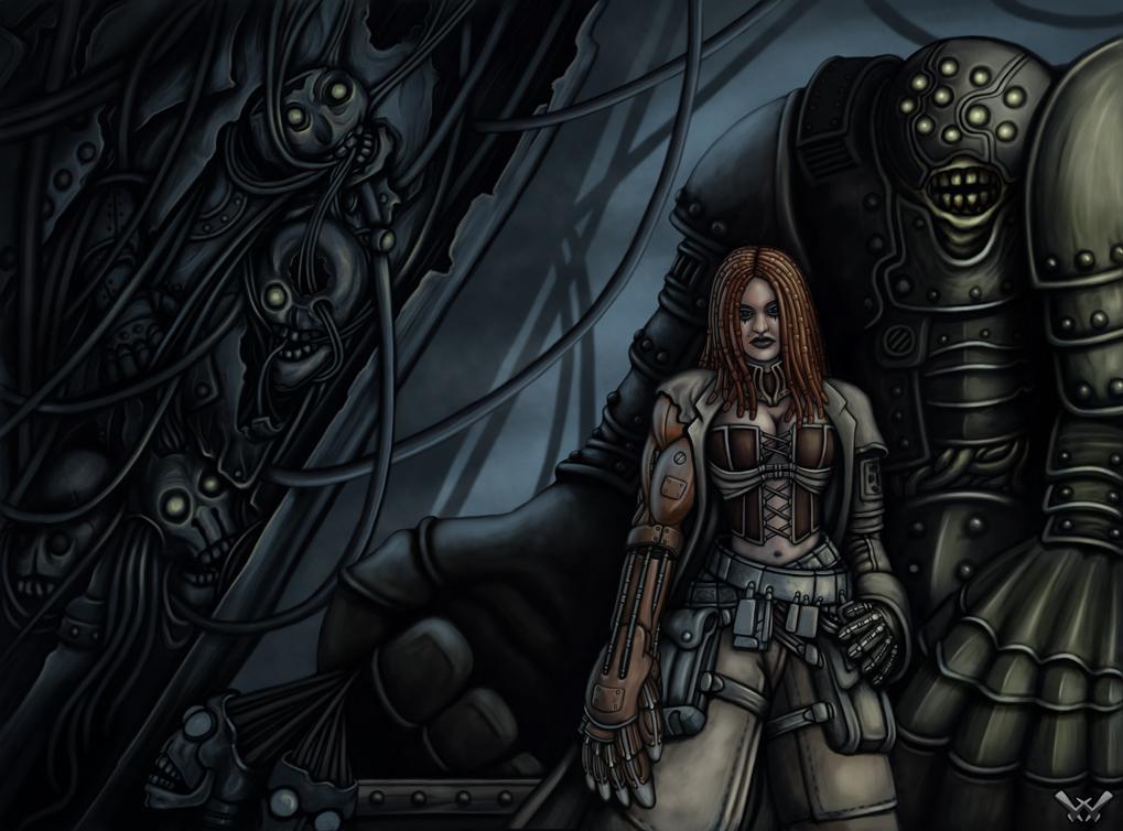 Steam Gothic 001 - Wrecking Crew by Winterflood