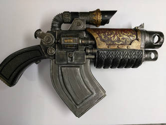 Warhammer 40K Typhon Pattern Bolter by Bag-of-hammers
