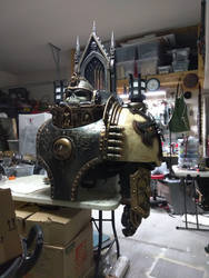 WH40K Chaplain WIP Update by Bag-of-hammers