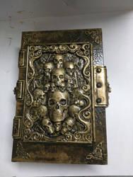 Black Templar Chaplain WIP (Book of Litanies) by Bag-of-hammers