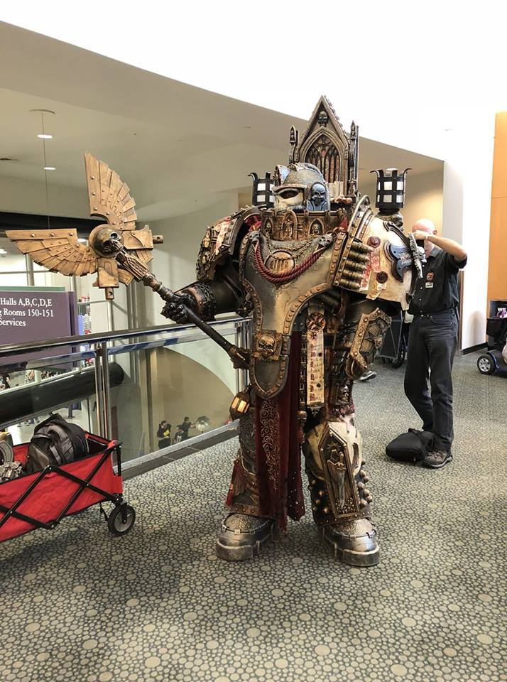 Grimaldus at Salt Lake City FanX 9/7/18 by Bag-of-hammers