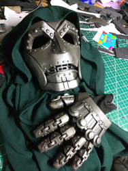 Doom WIP, Test paint by Bag-of-hammers