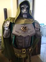 Dr. Doom WIP: Hood and tunic