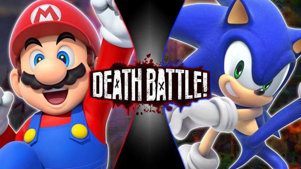 Death Battle Mario Vs Sonic 100th Episode By Cartoonfan12345 On Deviantart