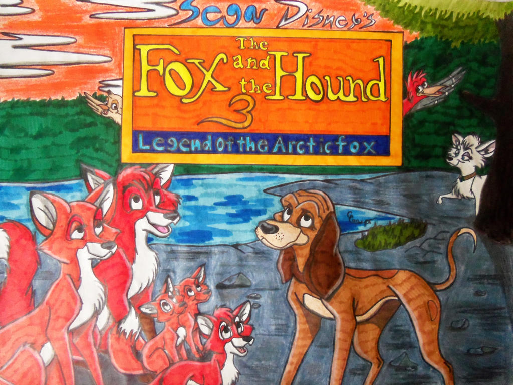The Fox and the Hound 3 Legend of the Arctic fox by ...