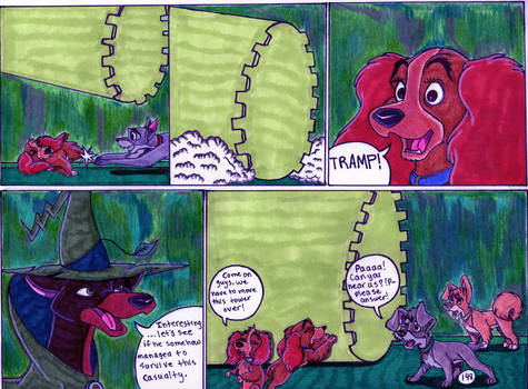 Lady and The Tramp 3 The Prankster Sorceress Pg148