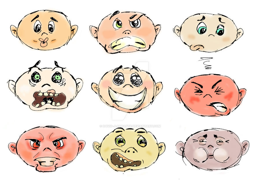Many Faces by David-J-Addante