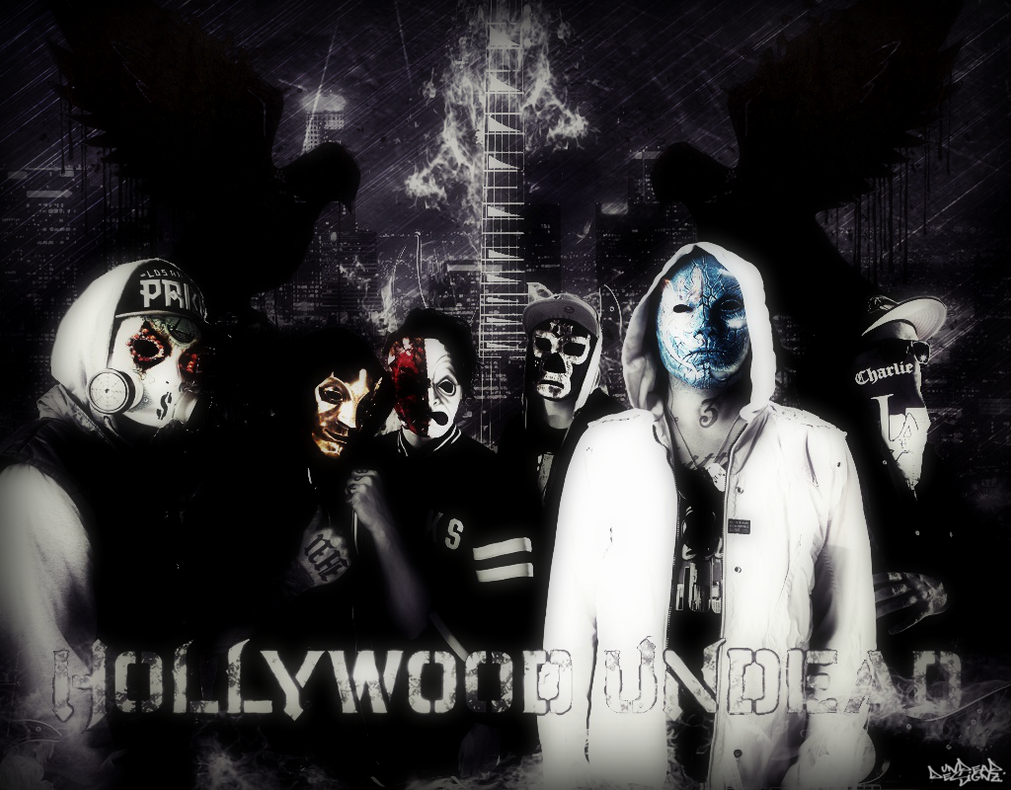 Hollywood Undead Wallpaper 2013 By UndeaDDesignz