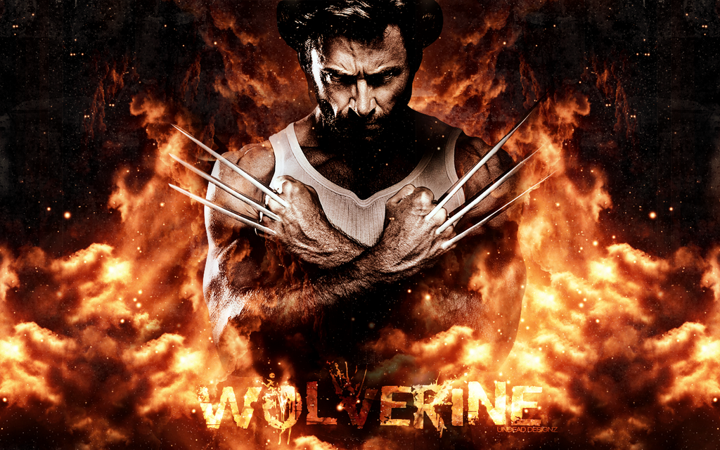 Wolverine wallpaper by undeaddesignz on deviantart wolverine wallpaper by undeaddesignz voltagebd Images