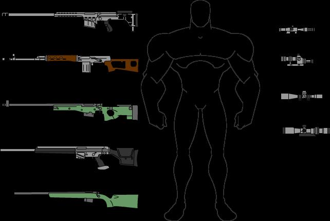 Desenhos e Vetores - Página 6 Sniper_by_spytadeolho-d5dsjht