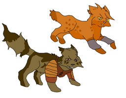 So I drew some cats anyways *shrug*