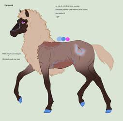 N6208 Personal Padro Foal Design by TheElvenJedi
