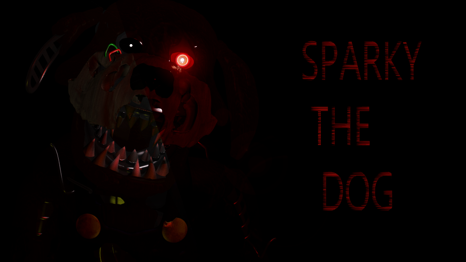sparky the dog. sparky the dog up for grabs by anart1996