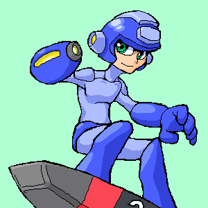 Megaman and Item2 by Dice-K