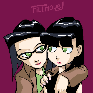 Ingrid and her sister by Dice-K