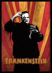 Frankenstein by klydedevine