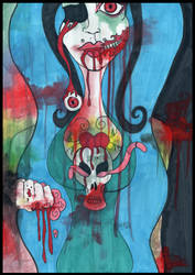 Blood Guts and Angel Cake by klydedevine