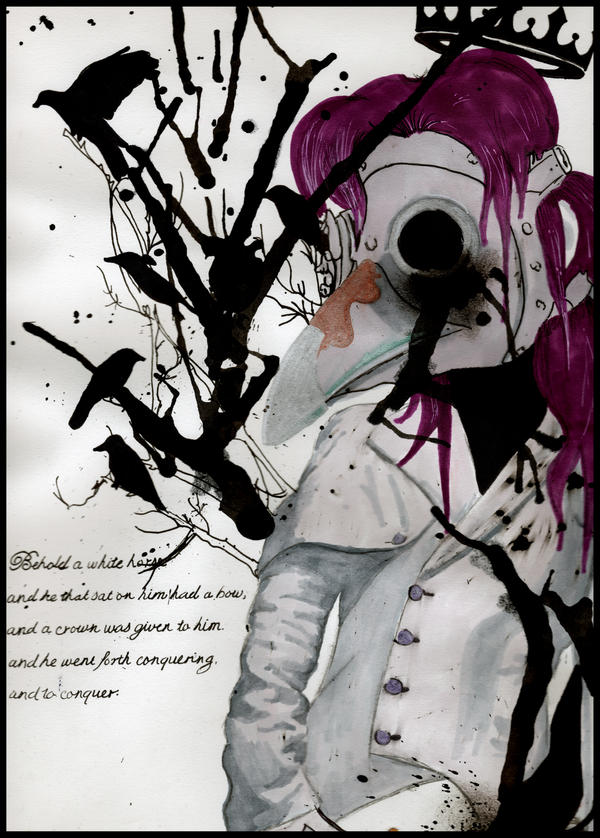 Plague: The White Horse by klydedevine