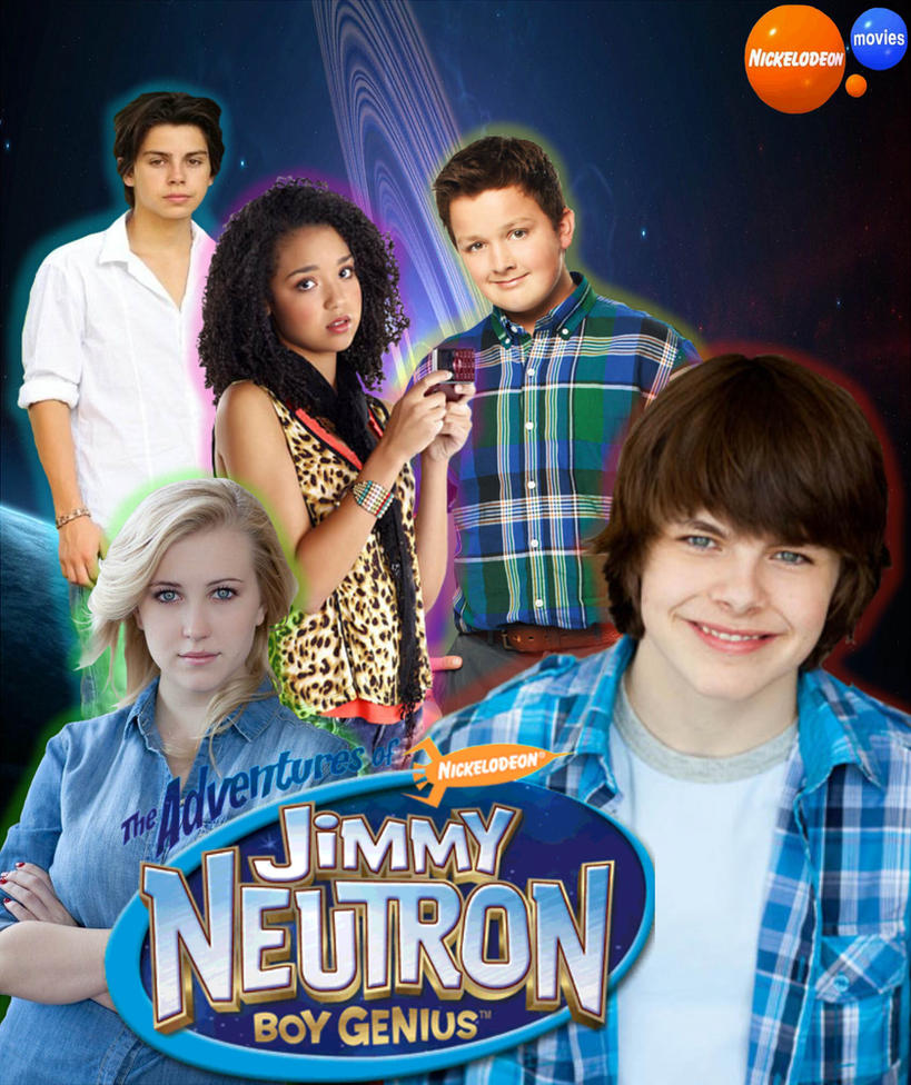 the adventures of jimmy neutron boy genius poster by