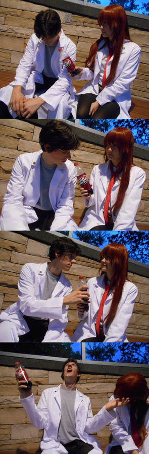 Steins Gate- This is why we can't be OTP