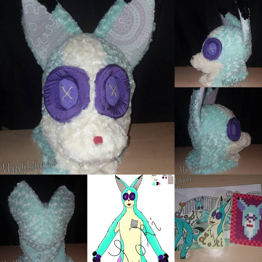 Loki the fox plusie  by saiya13