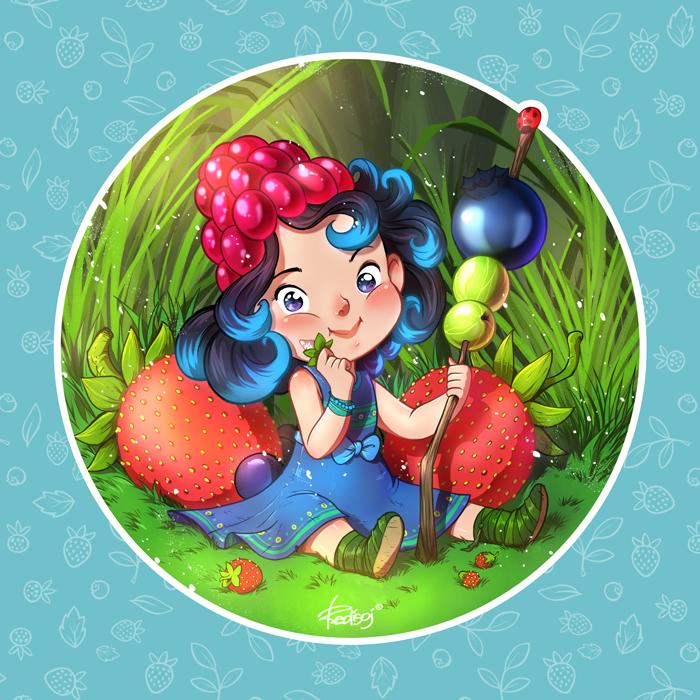 Summer berry by redisoj