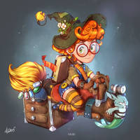 Little witch by redisoj