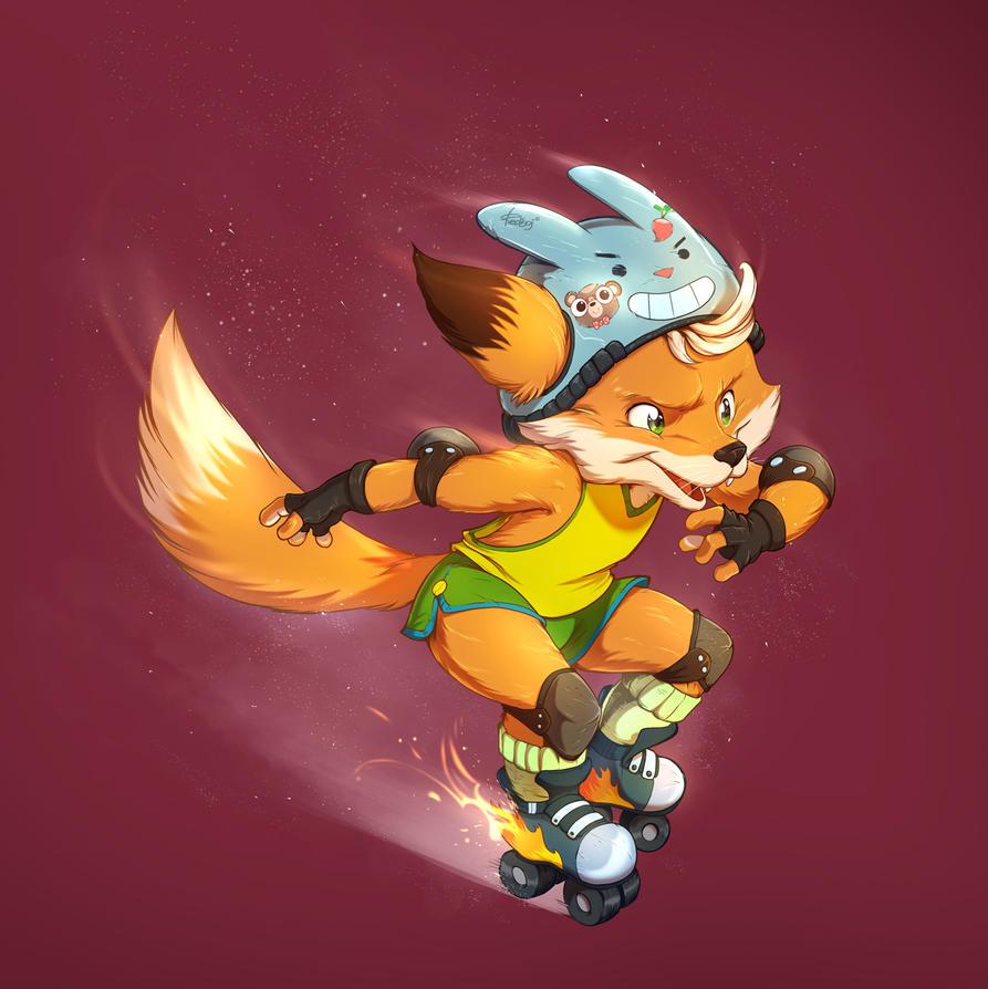 Roller FOX by redisoj