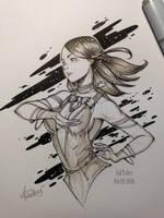 InkTober 2016 day 4 by redisoj