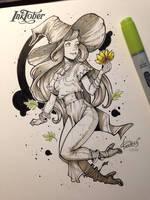 InkTober 2016 day 12 by redisoj